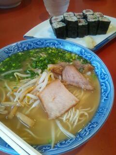拉麺と寿司