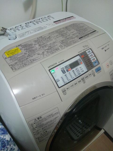 芳一の様な洗濯機