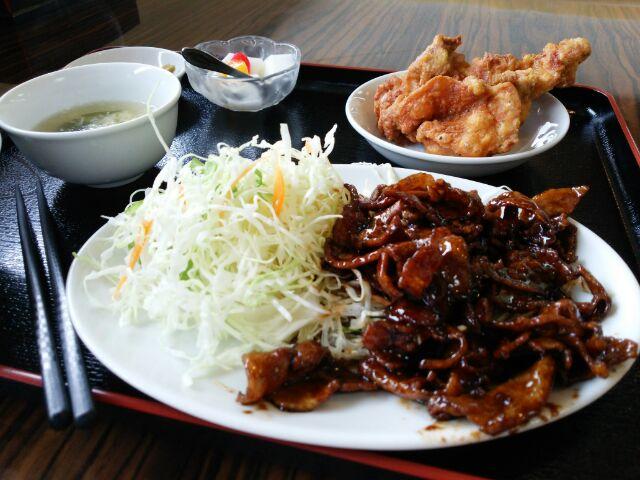 予想外の台湾料理。