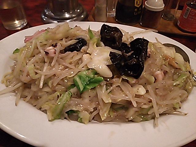 太麺皿うどん大盛