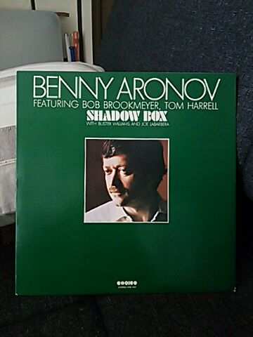 【買ったら聴く00002】SHADOW BOX/BENNY ARONOV