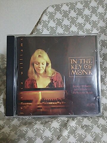 【買ったら聴こう00004】In the key of Monk/Jessica Williams