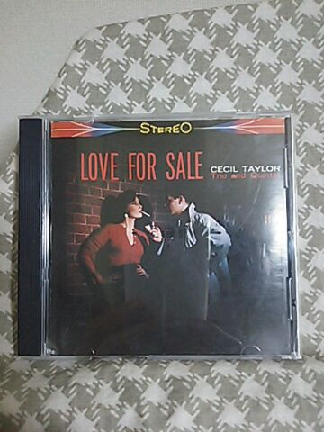 【買ったら聴こう00005】Love for sale/Cecil Taylor