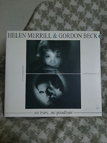 【買ったら聴こう00006】No tears...No goodbyes/Helen Merrill&Gordon Beck