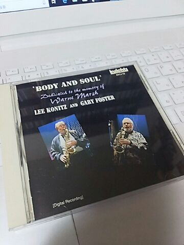 【買ったら聴こう00041】Body and soul/Lee Konitz & Gary Foster