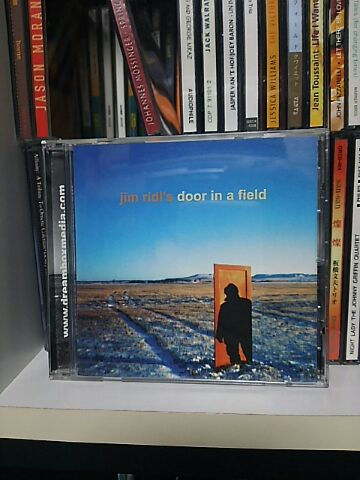 【買ったら聴こう00082】Door in a field/Jim Ridl