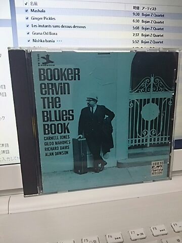【買ったら聴こう00097】The blues book/Booker Ervin