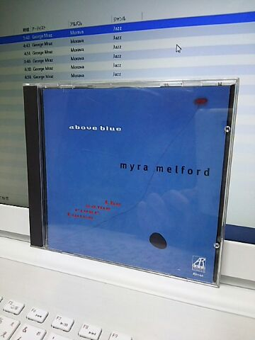 【買ったら聴こう00109】Above blue/Myra Melford