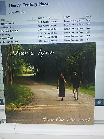 【買ったら聴こう00140】Two for the road/Cherie lynn